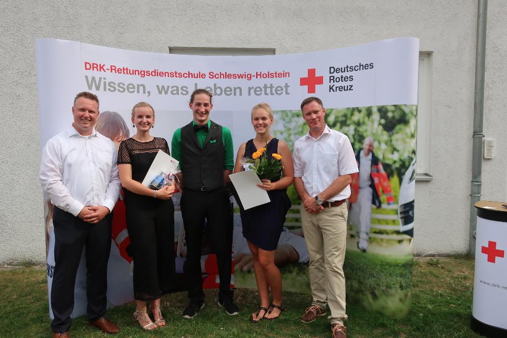 d55cc175737324 Neue Notfallsanitäter beim DRK-Kreisverband Herzogtum Lauenburg ...